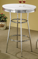 Coaster Furniture 2300 - Bar Table (White)