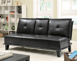 Coaster Furniture 300138 - Sofa Bed (Black)