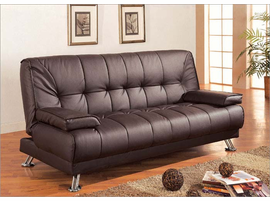 Coaster Sofa Bed Brown