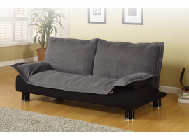 Coaster Sofa Bed Dark Grey