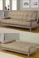 Coaster Sofa Bed Tan