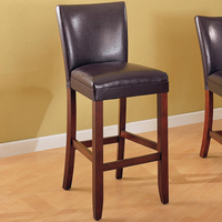 "Coaster Furniture 100388 - 29""H Counter Height Stool (Warm Cherry) - Set of 2"