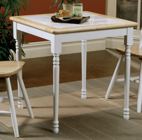 Coaster Furniture 4191 - Table (Natural/White)