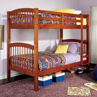 Coaster Furniture 460173 - Twin/Twin Bunk Bed (Honey Oak)