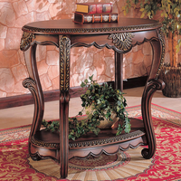 Coaster Furniture 700014 - Accent Table (Warm Brown)