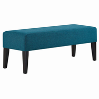 Connect Wood Bench, Teal [FREE SHIPPING]