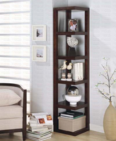 Corner Bookcase Shelf