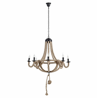 Coronet Chandelier, Brown [FREE SHIPPING]