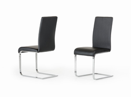 Crane - Modern Black Dining Chair (Set of 2)