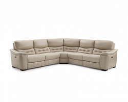 Creative Furniture Abigale Sectional with 2 Power Recliners