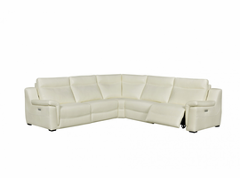Creative Furniture Anabelle Sectional with Two Power Recliners