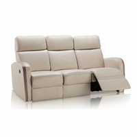 Creative Furniture Argentina Leather Sofa with Electrical Recliners