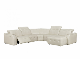 Creative Furniture Bebe Sectional with Power Recliner