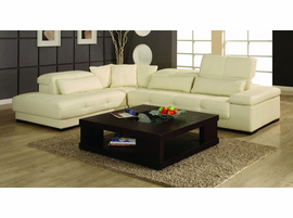 Creative Furniture Bella Sectional Right Bonded Off White Leather  sc 1 st  Z Furniture : bella sectional - Sectionals, Sofas & Couches