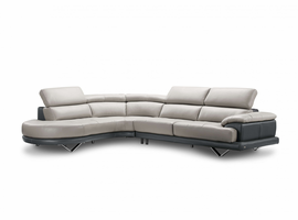 Creative Furniture Cecile Leather Sectional