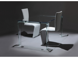 Creative Furniture Crystal Dining Table Glass