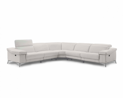 Creative Furniture Daya Sectional with 2 Power Recliners