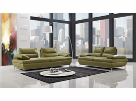 Creative Furniture NAOMI - Leather Sofa Set