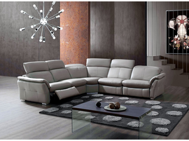 Creative Furniture Roman Sectional with 2 Power Recliners