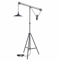 Credence Floor Lamp, Silver [FREE SHIPPING]