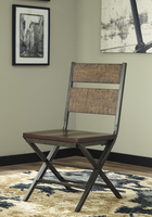 Ashley Express Furniture Dining Room Chair (2/CN), Medium Brown