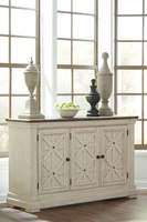 Ashley Furniture Dining Room Server, Two-tone