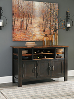 Ashley Furniture Dining Room Server, Two-tone Brown