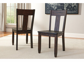 Trudell - D658-01 - Dining Room Side Chair (2/CN) - Dark Brown