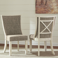 Bolanburg - D647-02 - Dining UPH Side Chair (2/CN) - Two-tone