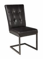 Ashley Express Furniture Dining Upholstered Side Chair (2/CN), Walnut Brown