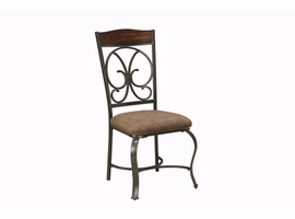 Glambrey - D329-01 - Dining UPH Side Chair (4/CN) - Brown