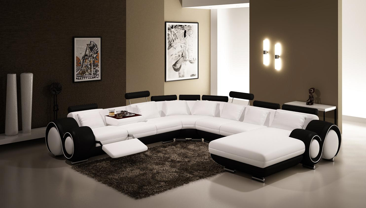 Image gallery divani furniture - Contemporary sectional sleeper sofa a good choice for your home ...