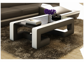 Divani Casa EV45 Modern Bonded Leather Coffee Table