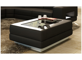 Divani Casa EV48 Modern Bonded Leather Coffee Table