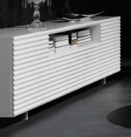 Doimo Mama White High Gloss Short Sideboard