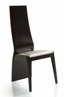 Doimo Queen Wenge Muslin Side Chair