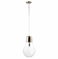Edison Chandelier, Clear [FREE SHIPPING]