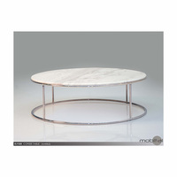 Elysee Coffee Table Marble Top
