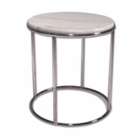 Elysee End Table Marble Top