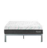 "Elysse Queen CertiPUR-US Certified Foam 12"" Gel Infused Hybrid Mattress, White [FREE SHIPPING]"