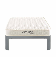 "Emma 6"" Twin Mattress, White [FREE SHIPPING]"