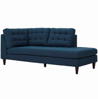 Empress Upholstered Fabric Bumper, Azure [FREE SHIPPING]