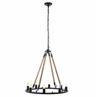Encircle Chandelier, Black [FREE SHIPPING]