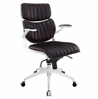 Escape Mid Back Office Chair, Brown [FREE SHIPPING]