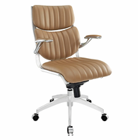 Escape Mid Back Office Chair, Tan [FREE SHIPPING]