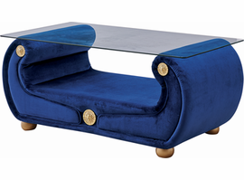 "ESF Giza Coffee Table Blue - 52"" W x 26"" D x 23"" H"