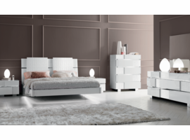 ESF Status Caprice Bedroom White Collection
