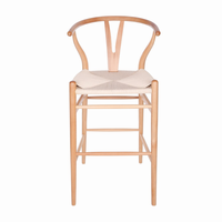 Euro Style Evelina Bar Stool in Natural