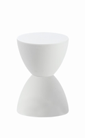 Euro Style Sallie Stool in White