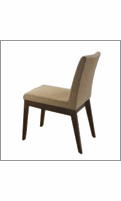 Eurostyle Banquo Brown/Wenge Side Chair (Set of 2)
